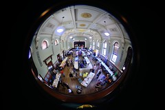 Western Sydney Homelessness Connect Event (Parramatta 27 October 14) (heritagefutures) Tags: park people urban fish eye net public square lens photography design town hall community support nikon october day angle space sigma australia social safety fisheye 180 event help planning nsw use bubble civic service member 27 8mm ultrawide development connect d800 welfare marginal 2014 centenary parramatta homelessness disadvantaged outcome providers enablement marginalisation