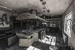 Lab II (Sean Papile) Tags: mountain fall abandoned monochrome canon october colorado ghost creepy urbanexploration ghosttown ghosts abandonment t3i urbex 600d abandonedtown gilma rurex
