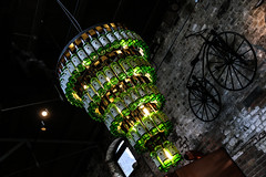 IMG_9397 (@kim78) Tags: ireland dublin lamp bottles whiskey alcohol whisky distillery jameson