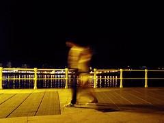 Ghosts (a.m.a. (alb_yester)) Tags: city espaa night noche spain gijn ciudad asturias