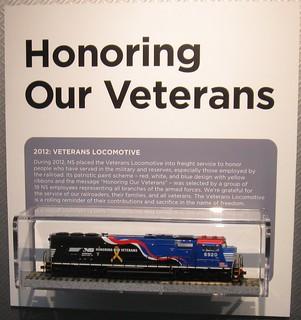 Honoring Our Veterans HO model