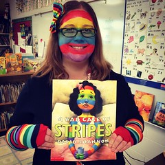 BAD Case of Stripes! (courtneyureel) Tags: school chicago fall halloween book costume october stripes teacher teaching 2014 davidshannon badcaseofstripes