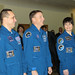 Expedition 42/43 during their final exams at Star City