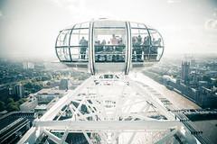 London Eye (ashility) Tags: city greatbritain england urban london westminster sightseeing housesofparliament londoneye tourists explore riverthames palaceofwestminster 24105mm vsco canoneos5dmkii 5dmk2