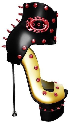 ALB SADOMA stiletto heels - for slink high feet by AnaLee Balut - ALB DREAM FASHION