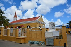 Dutch church at Kralendijk (Bonaire 2014)