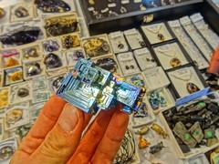 Bismuth (Prince of Random) Tags: beads rainbow rocks crystals jewellery minerals geode gems bismuth bizmuth