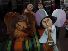 Wooden angels - hand made (Ciddi Biri) Tags: art wooden handmade angels melek elyapimi