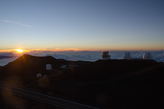 Mauna Kea Sunset (orange.plastic) Tags: sunset hawaii nikon dusk observatory telescope bigisland maunakea d7000