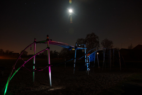 Night time at the park