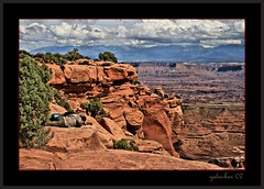 cuddle in canyonlands (the Gallopping Geezer 3.8 million + views....) Tags: road park trip nature canon landscape utah nationalpark scenery view scene formation canyonlands moab redrock geezer 2007 corel redstone west07923