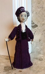 #MaggieSmith #DowntonAbby Tribute my #copyright photo and knitted design (Denise Salway) Tags: wool design ally knitting doll dolls designer handmade witch abby knit craft smith palace maggie yarn knittingpattern tribute welsh knitted denise tolkien designed the downton handknitted pally fibreart salway handkintted alexdandra welshknitting