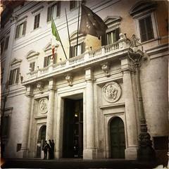 Montecitorio Palace .. Rome