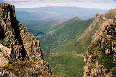 Mt. Anne K05 (mckenart) Tags: mountains trekking australia bushwalking tasmania kodachrome wilderness southwestwilderness mtanne