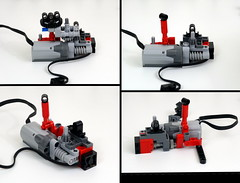 T34 disassembly (LegoMarat) Tags: lego legotechnic