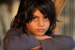 Bangladesh, young girl in Khulna