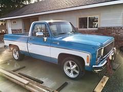 1979 Silverado C10 454 Big Block V8 - 04 (Alan Taylor - ERN) Tags: alantaylor ern 2017 1979 silveradoc10 bluepickup forsale pickup 454bigblockv8 shortbed chevy chevrolet
