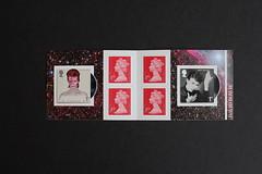 David Bowie Stamp Book (Darren...) Tags: david bowie stamps 2017