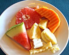 Tropical Breakfast (knightbefore_99) Tags: tasty fruit tropical delicious rincon guayabitos mexico mexican west coast papaya sandia red colour decameron hotel nayarit