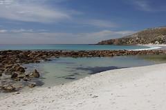 The hidden beach, Stokes Bay (cathm2) Tags: australia sa kangarooisland stokes bay beach sea water travel holiday hidden sun light