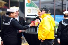 2017 Good Old Days Parade and Festival (Presidio of Monterey: DLIFLC & USAG) Tags: stevenshepard monterey california unitedstates parade military festival rain wet marching pacificgrove pg pom presidio dli dliflc defenselanguageinstitute army navy airforce usmc marinecorps soldier sailor airman marine