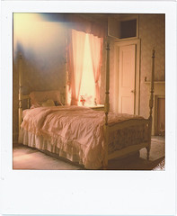 Pink Coffin (///Brian Henry) Tags: polaroid abandoned roidweek impossible project decay sx70 mansion pink