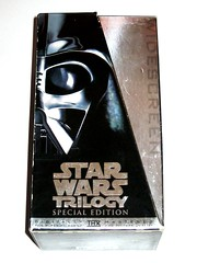 star wars original trilogy special edition 3 vhs video cassette set 1997 twentieth century fox home entertainment b (tjparkside) Tags: star wars 1997 special edition widescreen digitally mastered vhs video cassette cassettes original trilogy 3 set three lucasfilm 20th century fox ep episode 4 vi four new hope anh 5 v five tesb esb empire strikes back 6 six rotj return jedi twentieth home entertainment