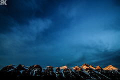 Harvie Heights Sunrise II (ryan.kole32) Tags: canmore canmorealberta alberta canada canadianrockies rockies rockymountains mountains sunrise bluesky clouds landscape nature beauty beautyinnature travel outdoors hiking sony sonya77 teamsony winter ice snow cold