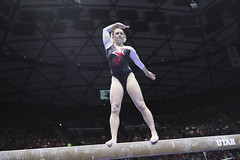 gymnastics027 (Ayers Photo) Tags: sports canon utahutes utah utes red redrocks gymnastics barefoot bare foot feet toes toe barefeet woman women