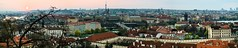 Prague Panorama (JirkaCaletka) Tags: panorama prague photography photo praha prag praga photograpy photographer outdoor czech cesko charlesbridge praguecastle jirka caletka camera nikon nikonphotography d3300 digital color colour czechrepublic cz square street morning center cesky castle view eastern gate nikonpohotography roof city sky red blue architecture sun sunrise