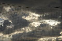 alibi (Cristiana C) Tags: sky cielo clouds nuvole net rete winter inverno ladispoli tirreno lazio