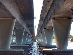 Windan vs Goongoonup (sander_sloots) Tags: bridges goongoonup bridge windan swan river railway graham farmer freeway perth brug bruggen claisebrook east