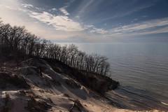 Low Sun Behind the Dunes (Tom Gill.) Tags: dune sanddune lake lakemichigan greatlakes beach indiana indianadunesnationallakeshore