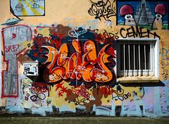 HH-Graffiti 3230 (cmdpirx) Tags: hamburg germany reclaim your city urban street art streetart artist kuenstler graffiti aerosol spray can paint piece painting drawing colour color farbe spraydose dose marker throwup fatcap fat cap hip hop hiphop wall wand nikon d7100 crew kru throw up bombing style mural character chari outline
