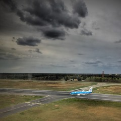Landed (wiedenmann.markus) Tags: klm landed dutch tegel airport berlin plane arrived travel journey trip ontheroad lanscape photography iphone iphone6