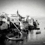 Digital Chalk and Charcoal Drawing of Tiberias by Charles W. Bailey, Jr. thumbnail