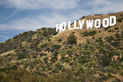 Hollywood sign from Deronda Drive (ronkacmarcik) Tags: hollywood sign california nikkor357028 los angeles hollywoodsign losangeles