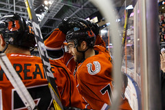 "Missouri Mavericks vs. Allen American, March 22, 2017, Silverstein Eye Centers Arena, Independence, Missouri.  Photo: © John Howe / Howe Creative Photography, all rights reserved 2017 • <a style=""font-size:0.8em;"" href=""http://www.flickr.com/photos/134016632@N02/33565521406/"" target=""_blank"">View on Flickr</a>"