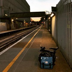 #Crawley #station #dawn #southernrail (inrepose) Tags: ifttt instagram brompton foldingbike crawley sussex