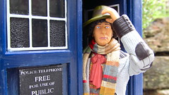 A Doctor Calls (Inaction Figure) Tags: drwho fourthdoctor tombaker tardis bbc tvshow tvsciencefiction timelord