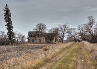 Abandoned on the prairies