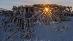 Alien Castles - Mono Lake (Jaykhuang) Tags: sand sandtufas tufacastle sandstoneformation alienlooks outworldly monolake monocounty sunset sunstar sunburst jayhuangphotography