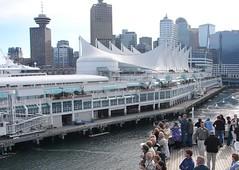 Cruise Terminal at Canada Place, Vancouver, BC (Joseph Hollick) Tags: vancouver bc britishcolumbia cruiseshipterminal canadaplace