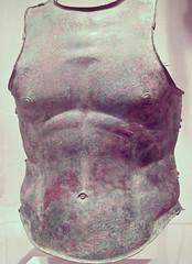 Bronze Cuirass, Apulian, 4th century BC (Sharon Mollerus) Tags: 4thcenturybc apulian greece greekart metropolitanmuseumofart newyorkcity bronzecuirassbodyarmor xss newyork unitedstates us