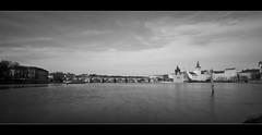 long exposure in Prague (kalakeli) Tags: longexposure langzeitbelichtung bw sw schwarzweis blackandwhite water kampa vltava moldau flüsse river rivers prague prag praha march märz 2017 karlsbrücke charlesbridge karlůvmost nd ndfilter 3secs