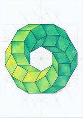 20170201_0001 (regolo54) Tags: solid polyhedra geometry symmetry handmade escher mathart regolo54 pencil