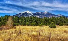 San Francisco Peaks (danielledufour430) Tags: photography landscape arizona northernarizona flagstaff mountains snow sanfranciscopeaks nature sky beautiful