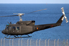 HU.18-14_02 (GH@BHD) Tags: hu1814 et275 agusta bell uh1 huey agustabell ab212 spanisharmy spanishairforce ace gcrr arrecifeairport arrecife lanzarote helicopter rotor chopper military aircraft aviation