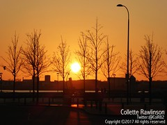 All rights reserved Collette Rawlinson (Collette Rawlinson) Tags: liverpool england merseyside uk sunset river mersey