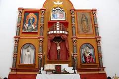 Altar (Piedmont Fossil) Tags: goliad state park texas mission espiritu santo statue